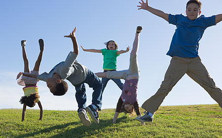 Do you want to have a physically active child? Be an active mother ...
