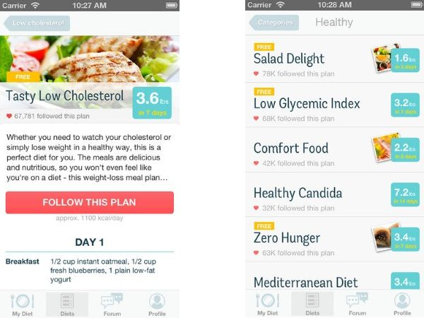 My 3 favorite diet plan applications for android diethics my 3 favorite diet plan applications for android forumfinder Images